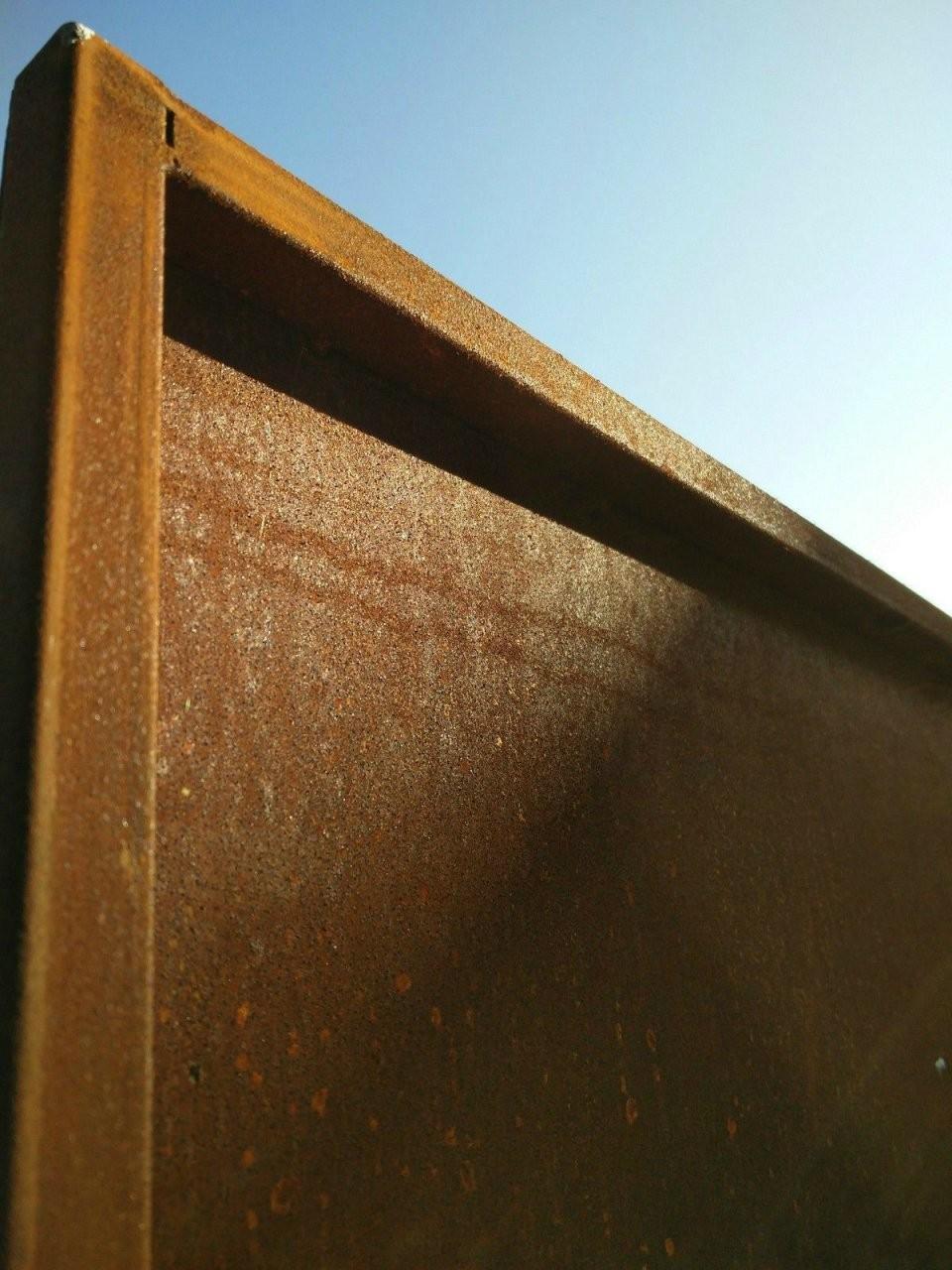 Sichtschutz Metall Rost Selber Machen