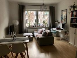 Schönes Wohn Und Esszimmer Wohnung Innenarchitektur von ...