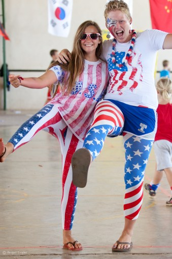 America: those Stars & Stripes!