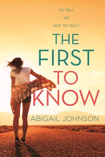 THE FIRST TO KNOW COVER