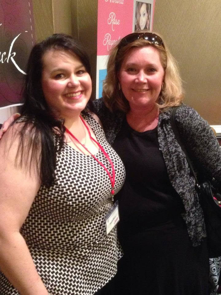 Authors In the City, 2014 New York with the wonderful Shayla Black.  Yep I went all fan girl on Shayla.