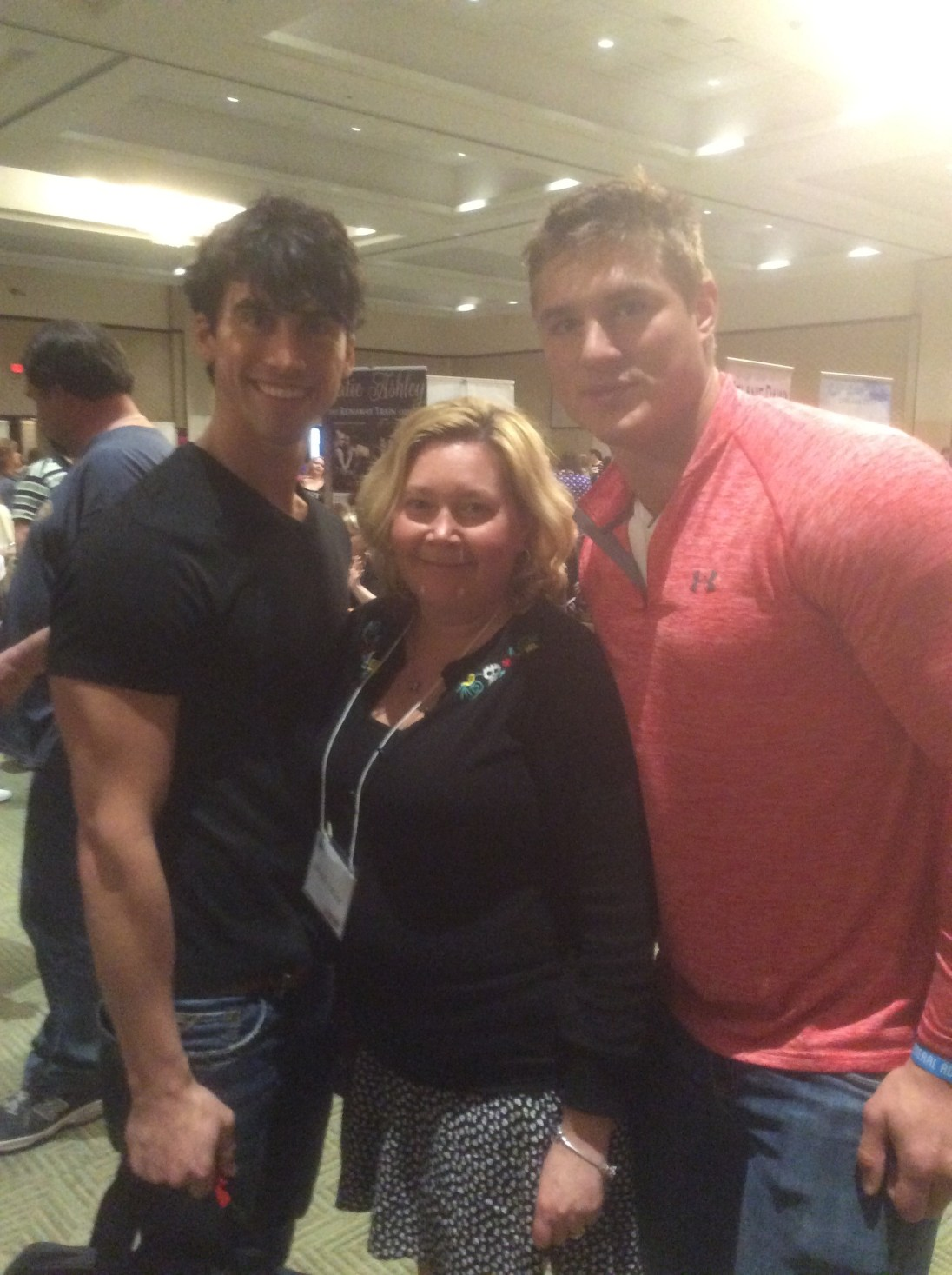 AITC15 MYRTLE BEACH Sandwiched between two Hotties!!!!