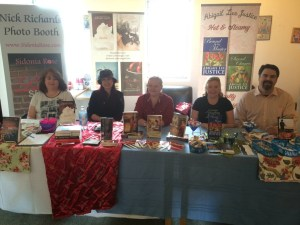 UKazoo signing 4/25/15 Sidonia Rose, Megan Hart, Katie Quinn, Abigail Lee Justice, D.L. McCleary.