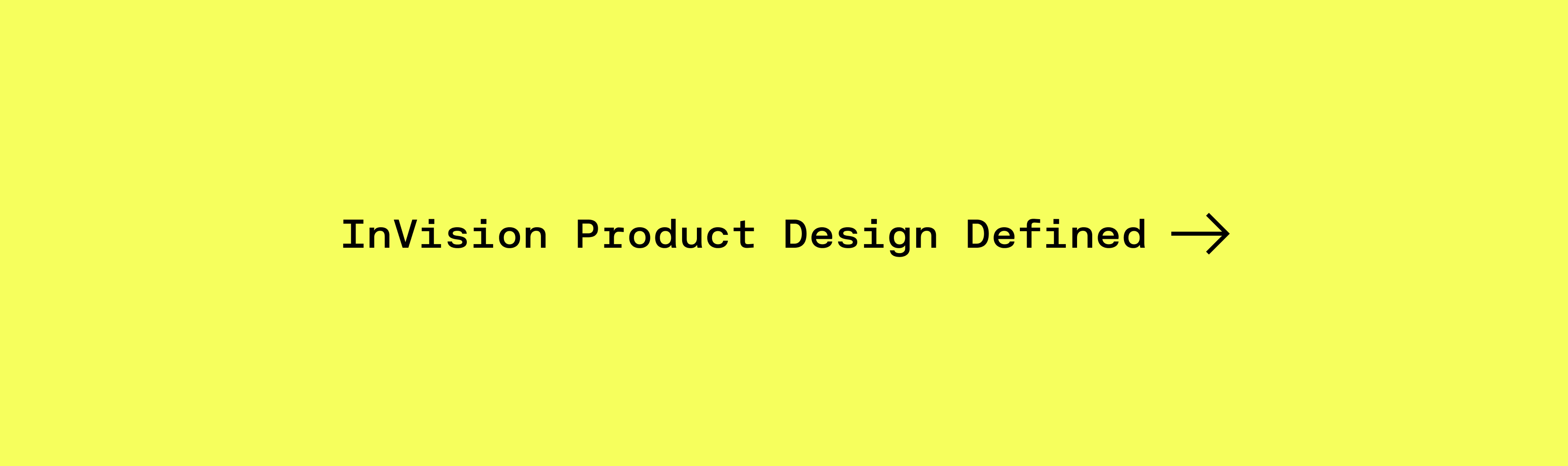 invision product design defined