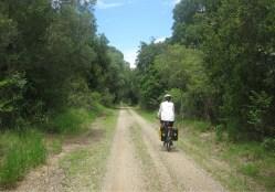 Jones Road heading towards Nature Reserve