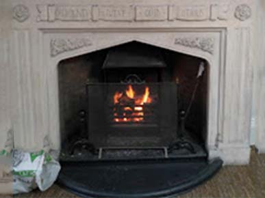 Isle of Man Nunnery, warm fire. The offices of ability6®