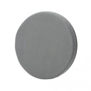 round grey cushion swivel seat