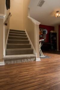 Wood-Look PVC Vinyl & Grey Carpet - Ability Wood Flooring
