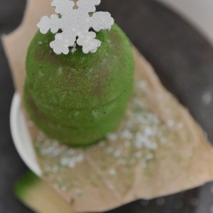 Kriss Harvey made this little Christmas tree for me to take home and deconstruct, photo shoot and taste more research..