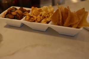 snack tray is always delivered.. part of the Forbes standards..