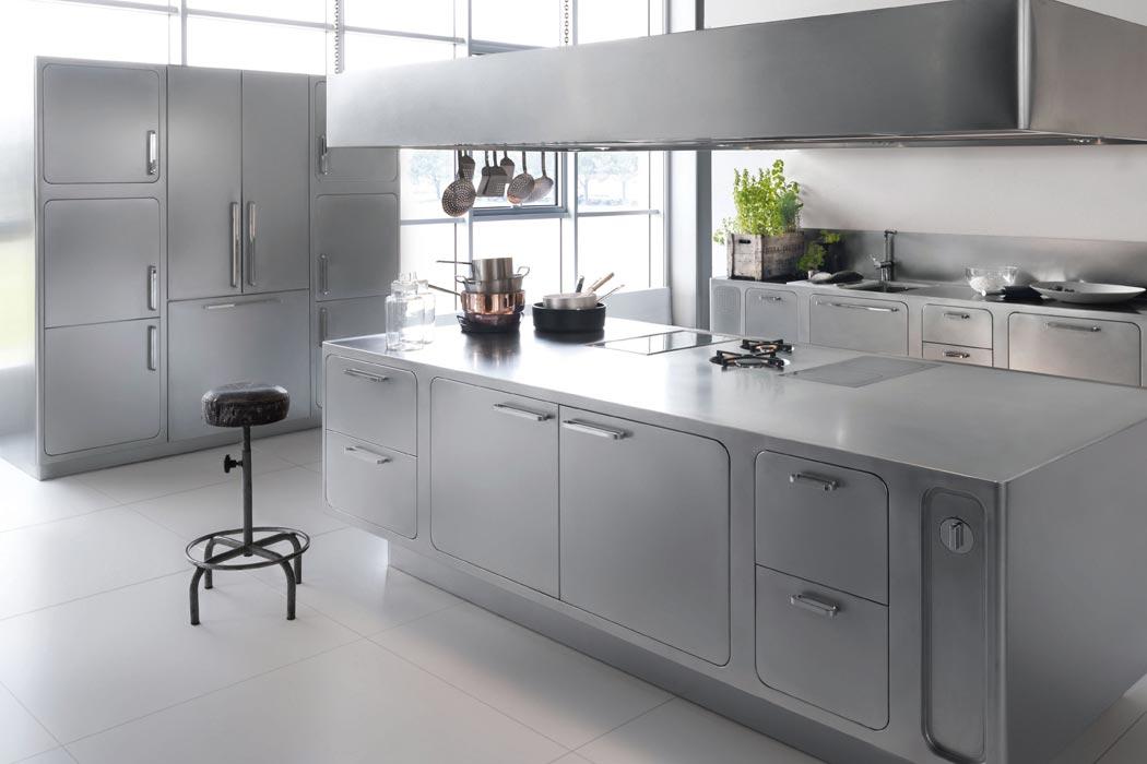 Lacciaio inox un materiale perfetto per le cucine di