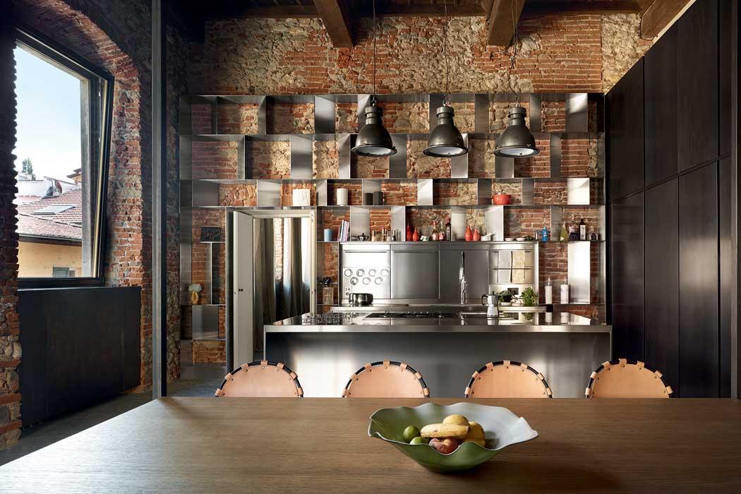 Cucina stile industriale la tradizione incontra l