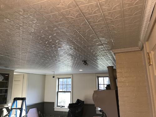 Commercial Tin Ceiling Tiles  Residential Ceiling Installation Brooklyn