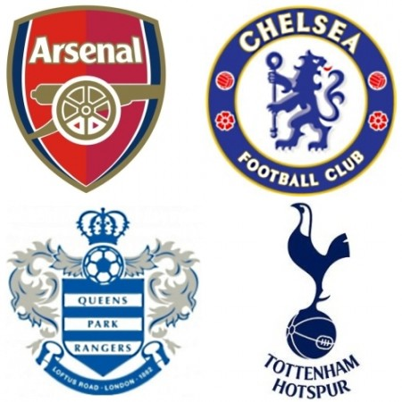 Image result for premier league london football clubs