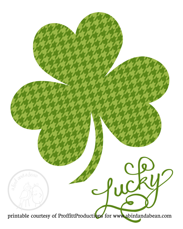 Free Printable St Patrick S Day Art