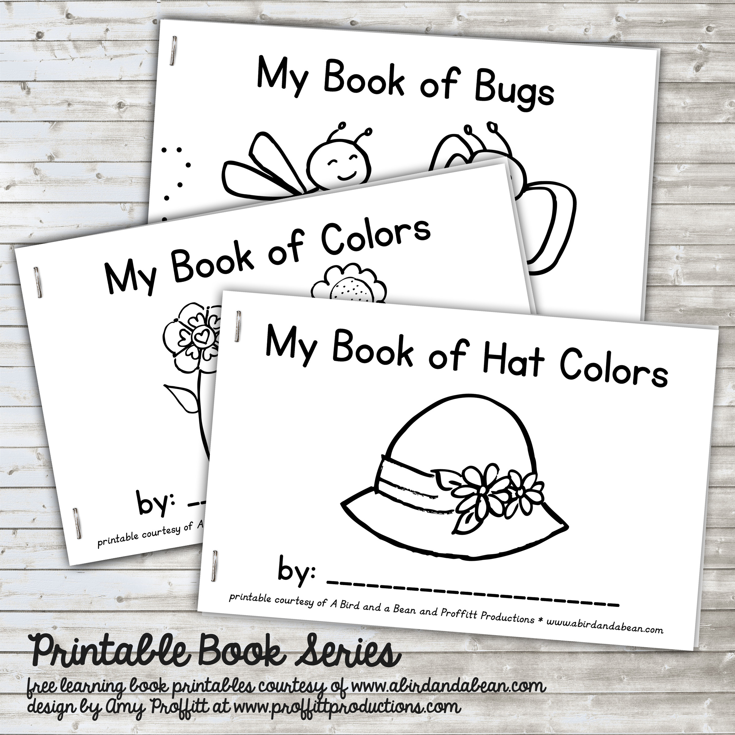 Summer Book Series Free Printable