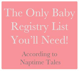 baby registry list