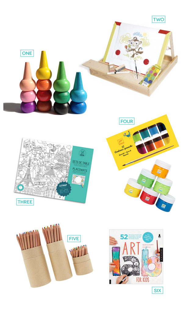 Holiday Gift Guide 2014 - The Kid Artist