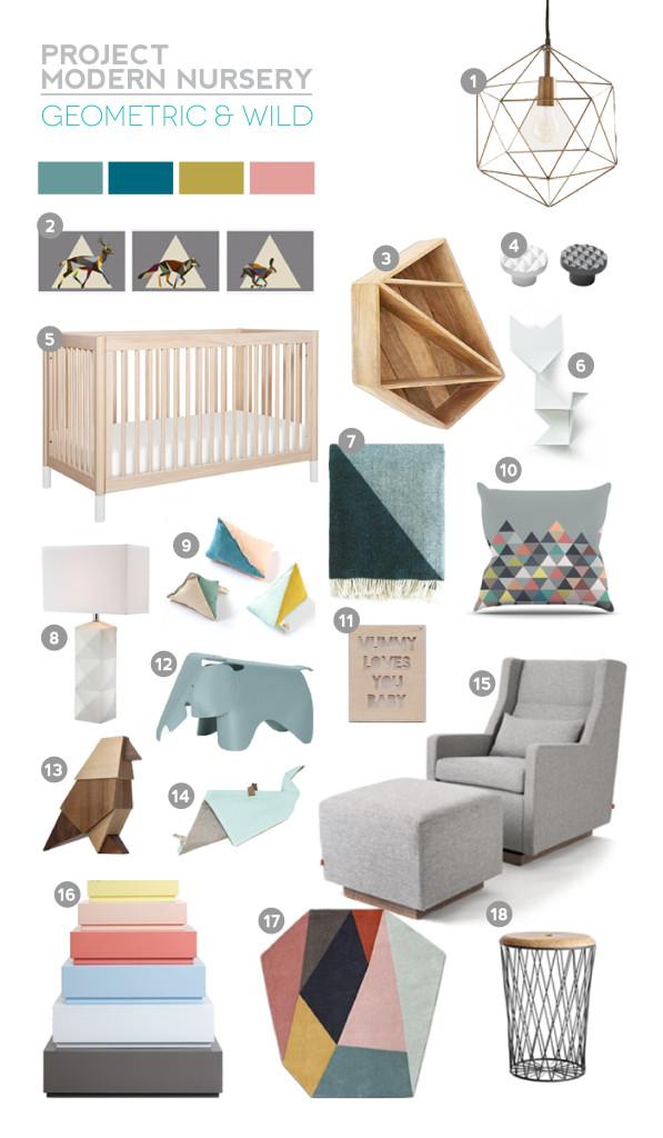 Project Modern Nursery: Geometric And WildProject Modern Nursery: Geometric And Wild