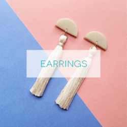 A Bird with a French Fry - New Earring Collection