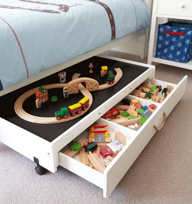 Kid Approved Toy Storage