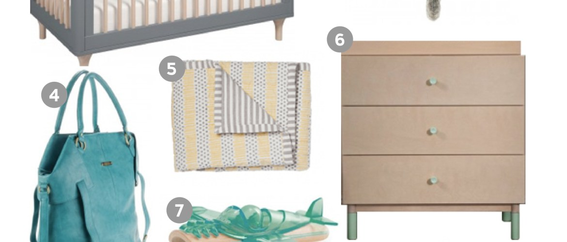 Project Modern Nursery: Boho Baby - A Bird with a French Fry