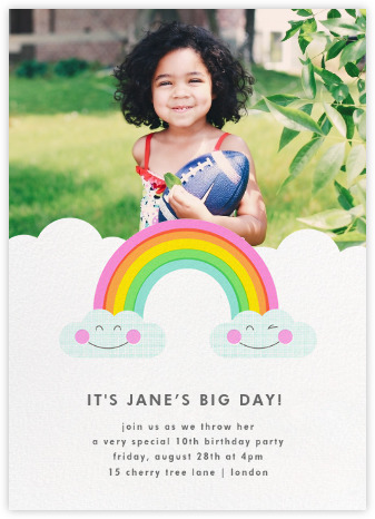 Paperless Post Rifle Paper Co. Kids' Birthday Invite