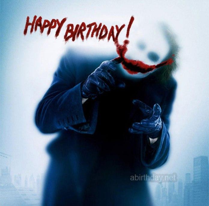 Joker Happy Birthday Meme