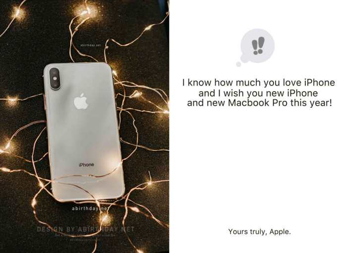 iPhone Birthday Meme