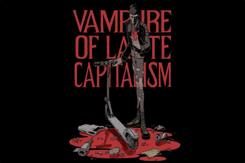 Vampire of late capitalism. CARLOS G. GURPEGUI