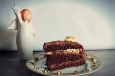 Mozart Torte mit Engel