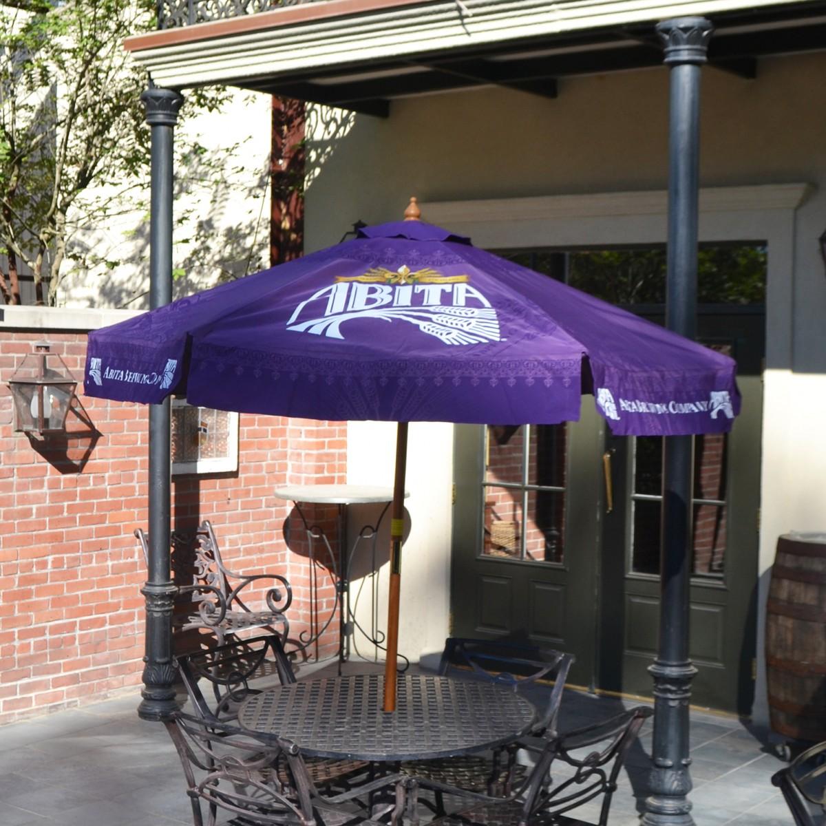 abita beer patio umbrella abita shop