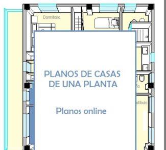 PLANOS DE CASAS DE UNA PLANTA Soluciones a la distribucin