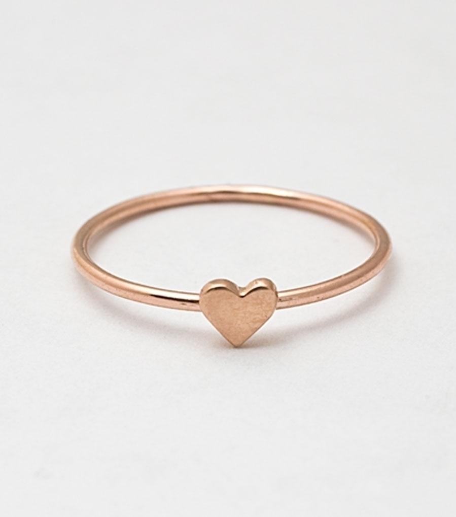Rose Gold Ring: Rose Gold Ring Love