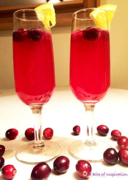 Cranberry Orange Spritzer