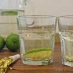 Ginger, Vanilla, and Lime Sparkler