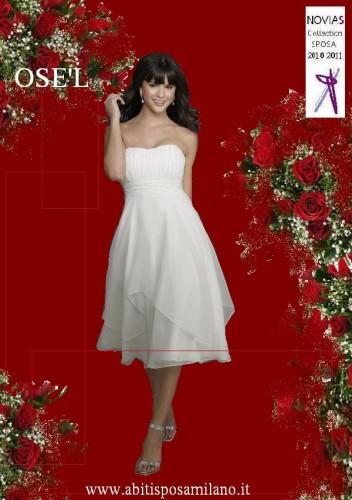 a8bc7ee2df79 Abiti sposa CORTO o LUNGO colorato o bianco COME scegliere il vestito  PERFETTO ! abito da sposa corto milano NOVIAS.jpg