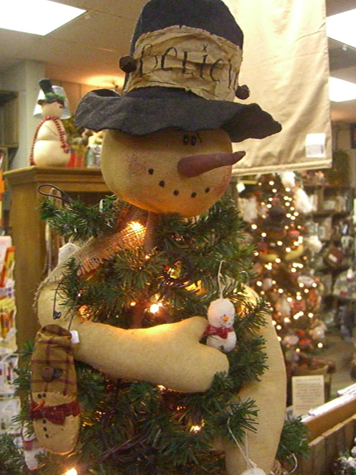 Snowmen Tree Huggers A Bit Of Countrys Blog