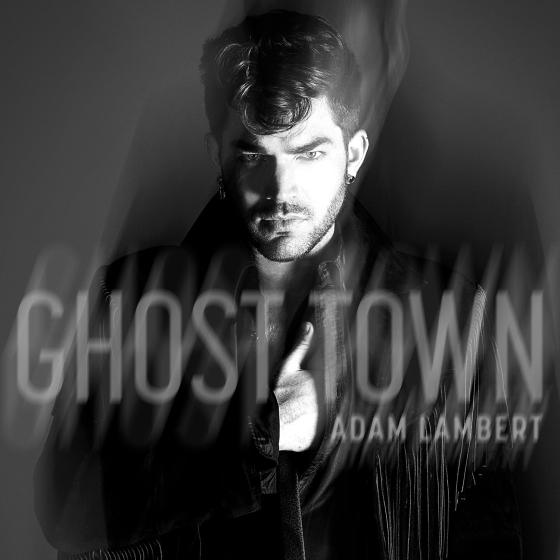 Adam Lambert Ghost Town cover