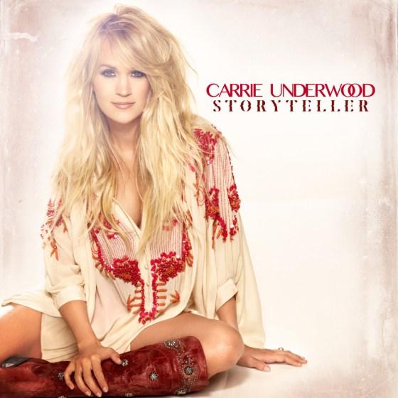 Carrie Underwood Storyteller cover