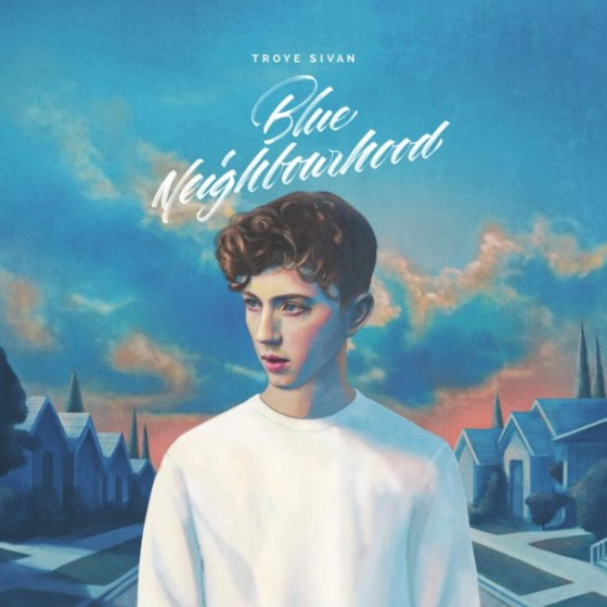Troye Sivan Blue Neighbourhood cover