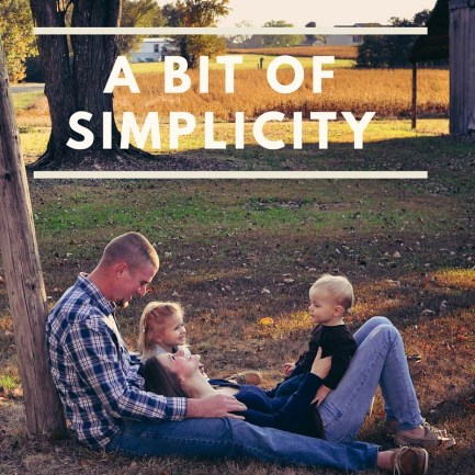 Sometimes all you need in life is A Bit of Simplicity. (2)