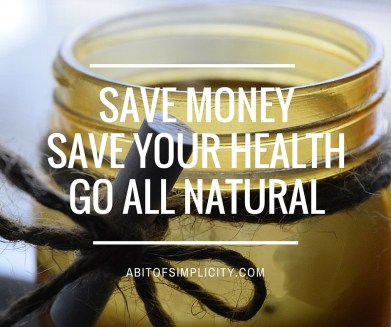 save moneysave your healthgo all natural