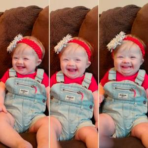 After being told of their daughter's diagnosis of Down Syndrome, this mom wished she had the courage to have answered the question of abortion differently. Down Syndrome. Heart Failure.