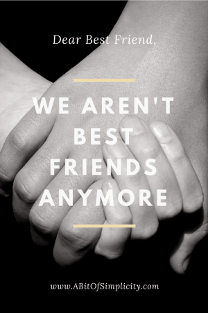 Finding true friendship is  hard. Keeping them is even harder. www.abitofsimplicity.com
