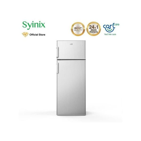 Syinix 212 Litres Double Door Refrigerator