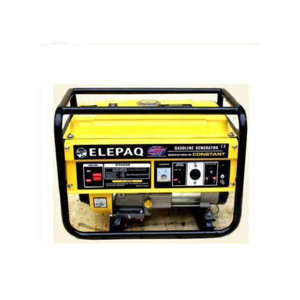 Elepaq Constant 4.5KVA Manual Start Generator SV6800 100% Copper