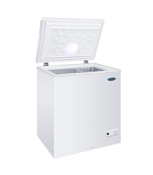 This Haier Thermocool Small Chest Freezer 100 INTC R6 WHT