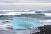Eis am Meer
