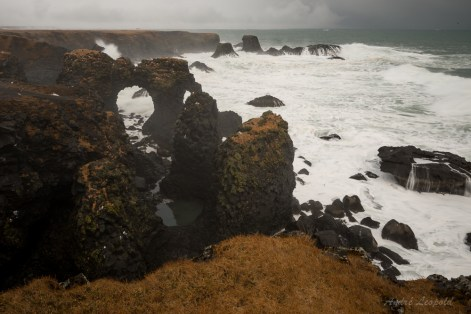 Steilküste von Arnarstapi